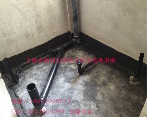 传统的卫生器具和排水管